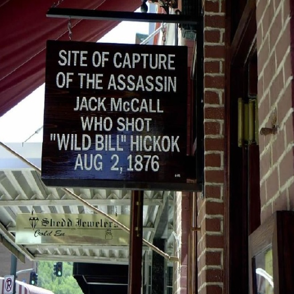 Jack McCall Capture Site